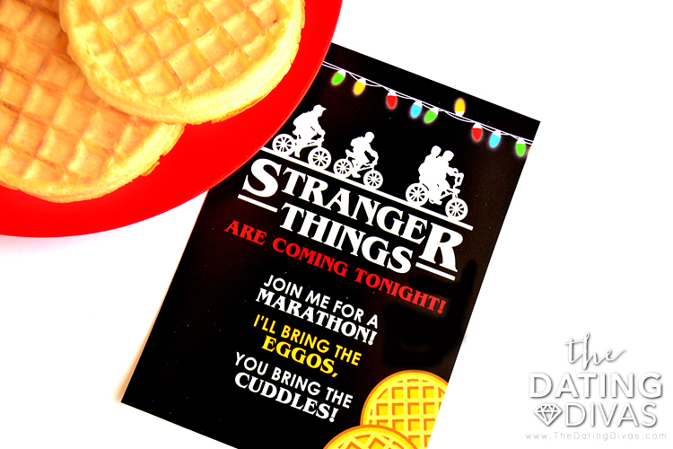 Stranger Things Party Invite