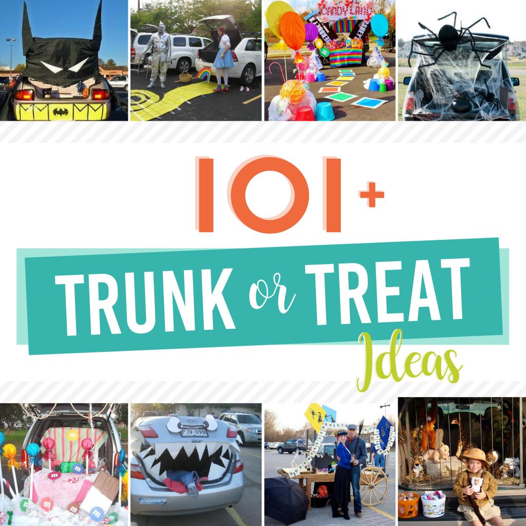 Trunk Halloween Decorating Ideas: Trunk Or Treat Ideas For Halloween