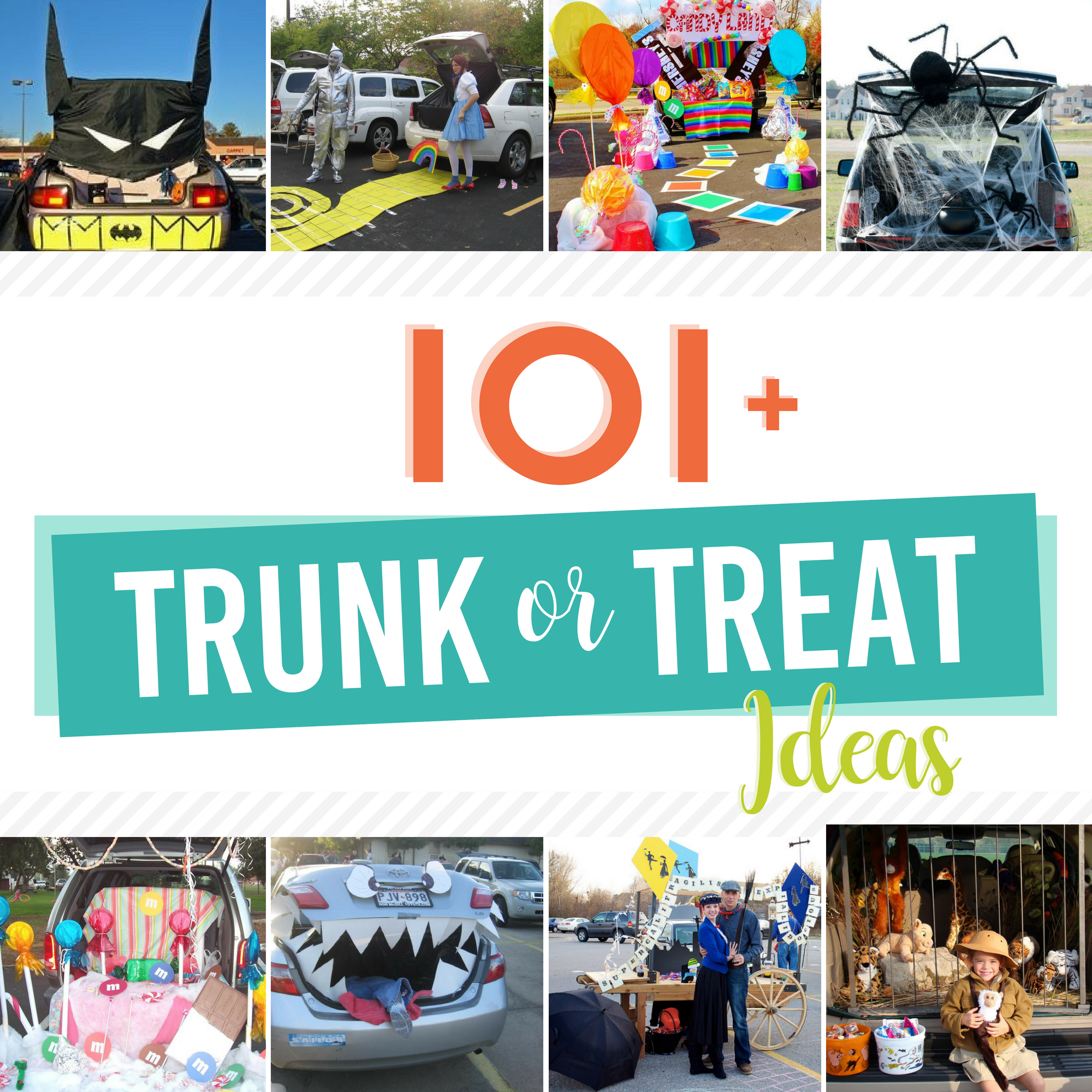 Easy Trunk Or Treat Ideas From The Dating Divas