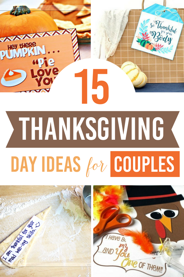 15 Thanksgiving Day Ideas for Couples