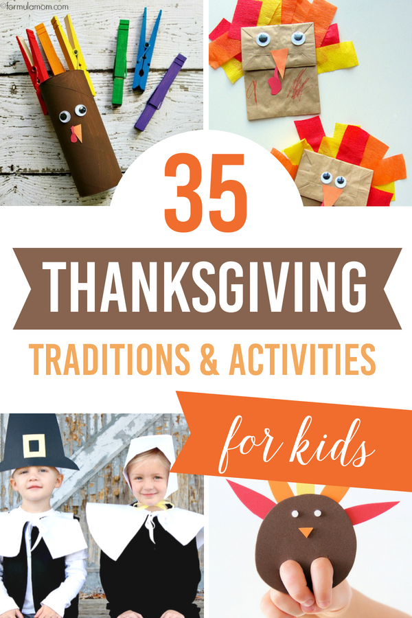 35 Thanksgiving Traditions and Activities for Kids