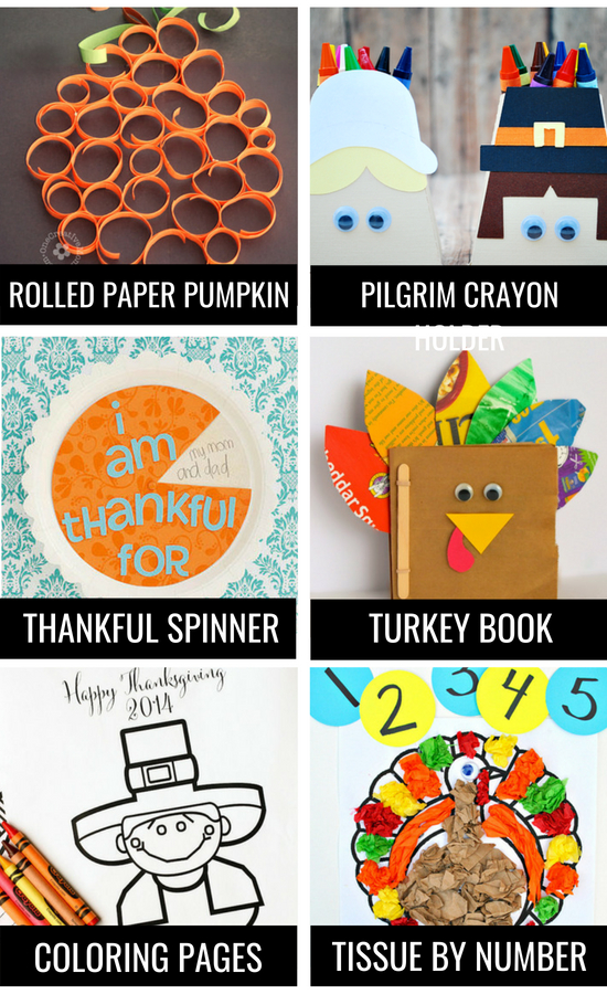 Arts and Crafts Thanksgiving Traditions