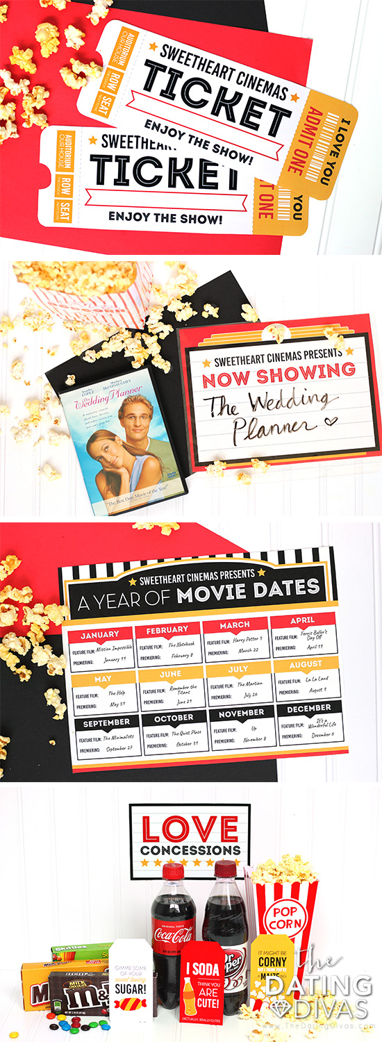 Movie At Home Date Night Ideas