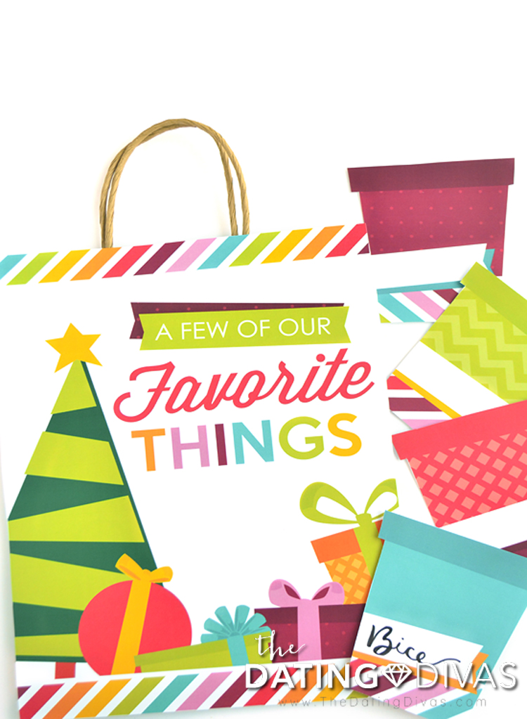 Favorite Things Bag Cover for Couples Favorite Things Party