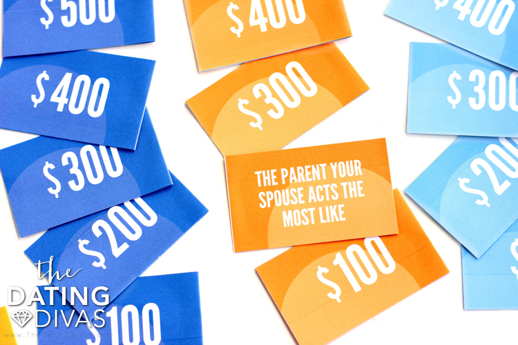 Create Your Own Jeopardy Game Night