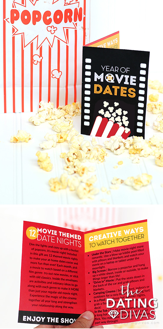 Date Night Movie Gift Card