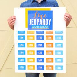 Jeopardy Game Night Idea