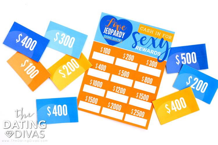 Love Jeopardy Game Show Rewards