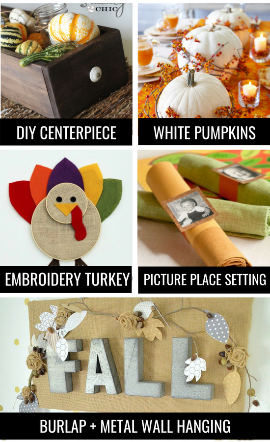 Special Thanksgiving Tradition Decor