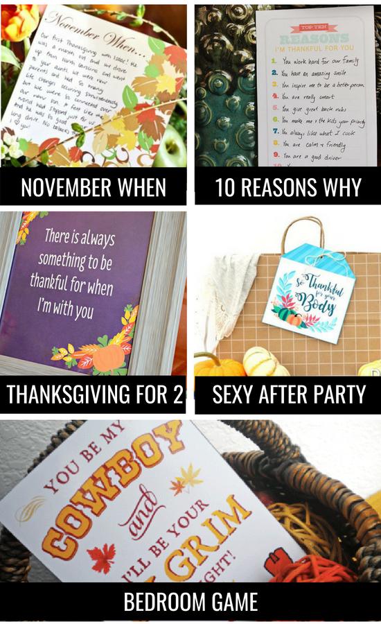Thanksgiving Couple Ideas
