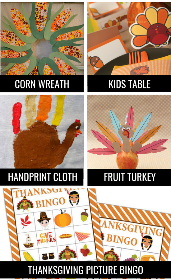 Thanksgiving traditions for kids and family.