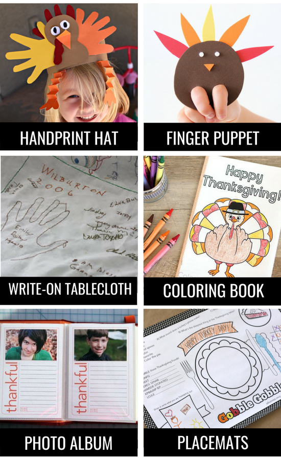 Thanksgiving traditions for children.