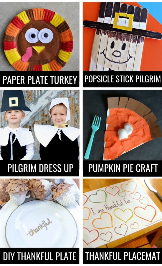 Thanksgiving traditions, kids arts and crafts.