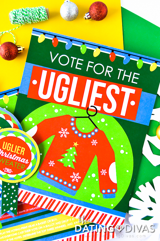 Ugly Sweater Party Contest