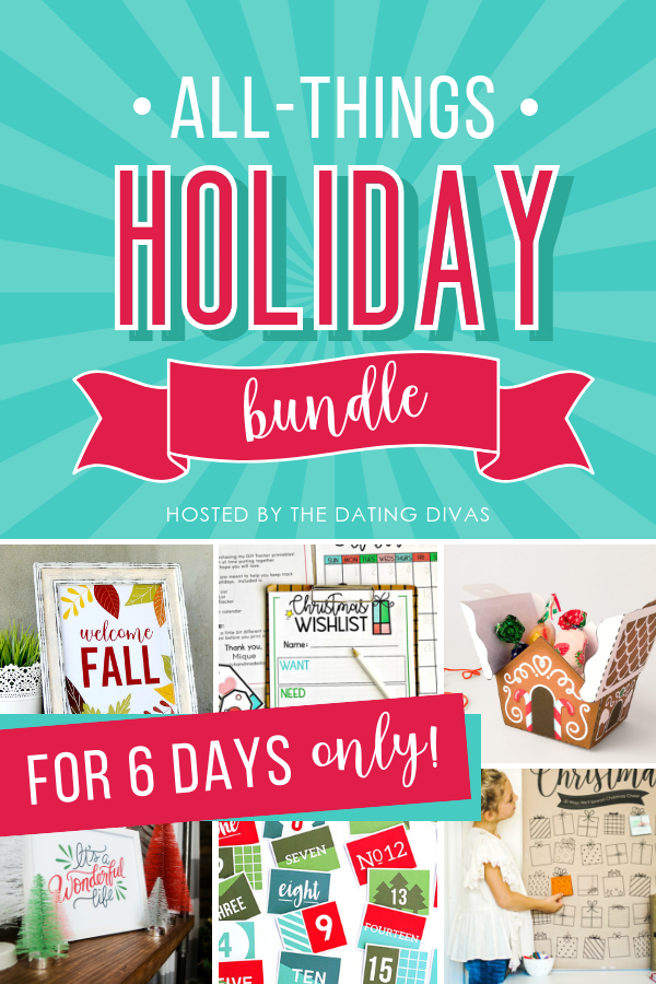 holiday printable bundle pack by the dating divas