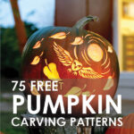 75 FREE Pumpkin Carving Stencils and Most Creative Pumpkin Patterns