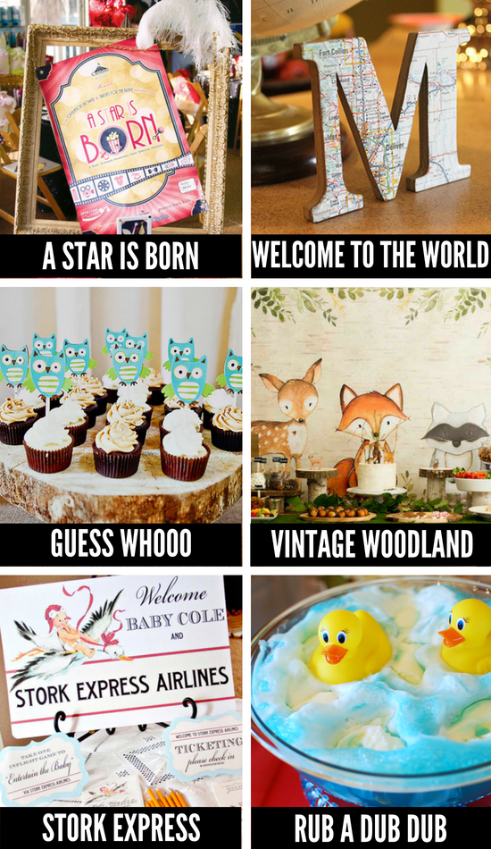 Baby Shower Ideas for Boys and Girls