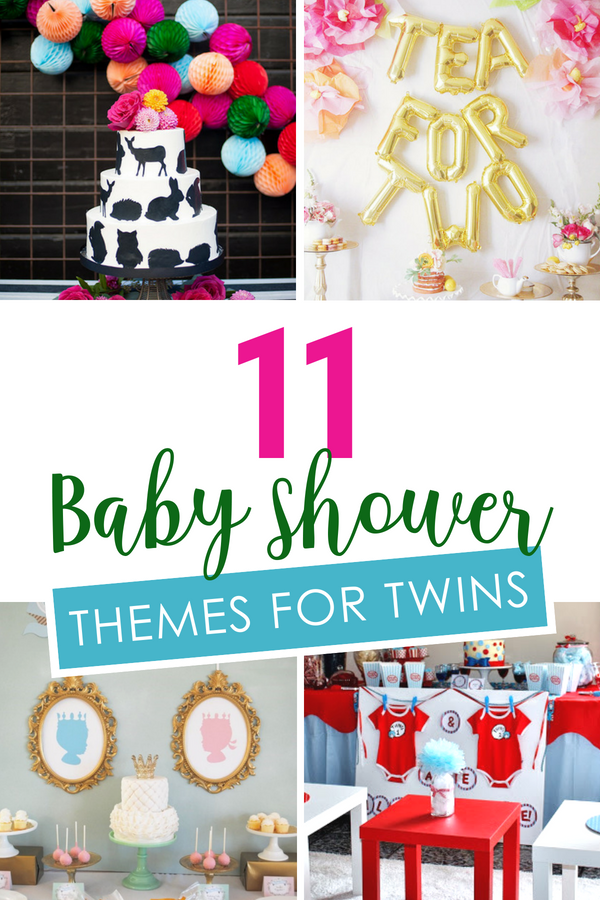 Baby Shower Themes for Twins