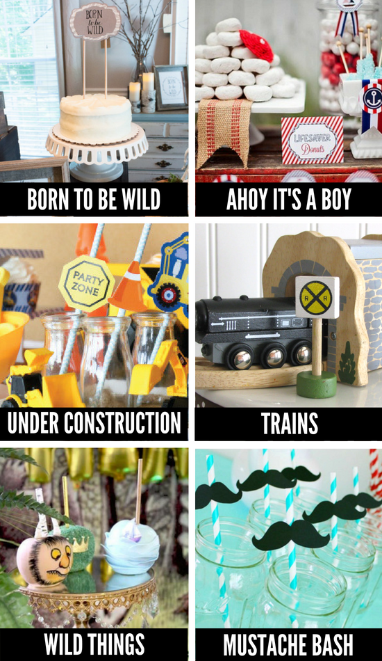 Cute Baby Shower Themes for Boys