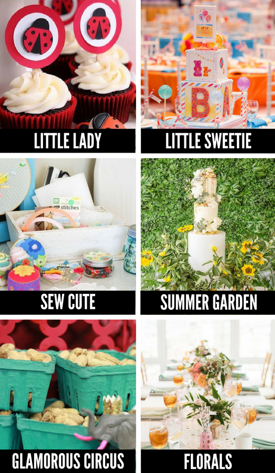 Cute Baby Shower Themes for Girls