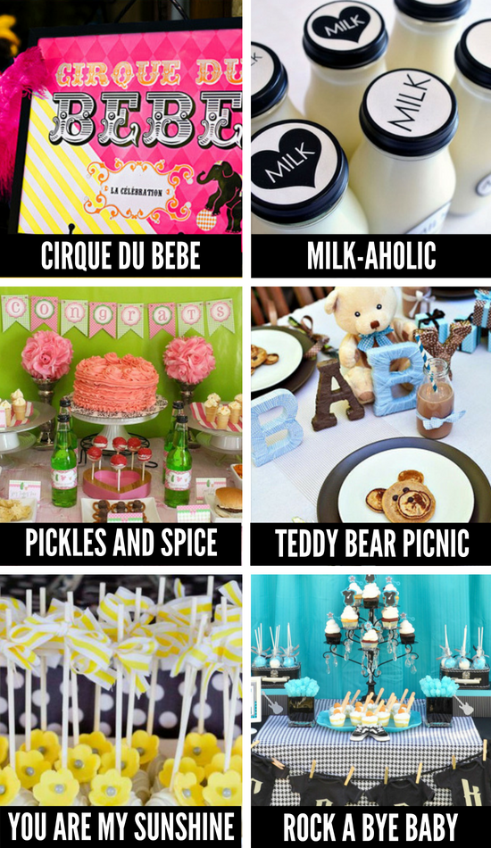 Cute Gender Neutral Baby Shower Themes