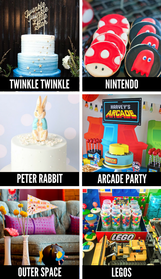 More Baby Shower Themes for Boys