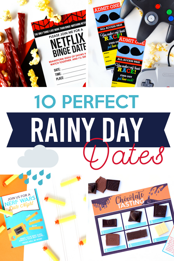 Perfect Date Ideas for Rainy Days