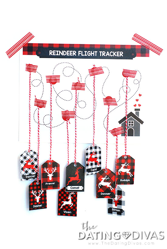 Reindeer Games Flight Tracker