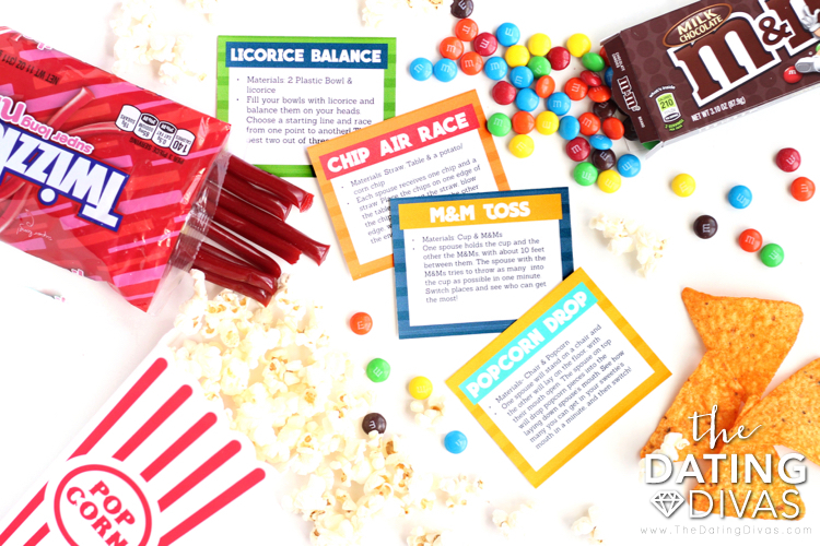 Sports Movie Activity Cards