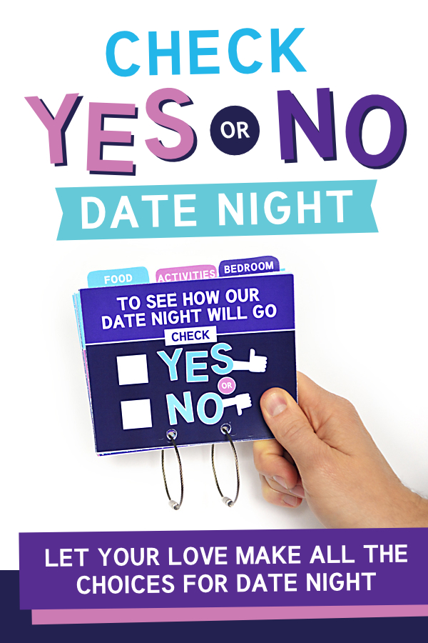 Check Yes Or No Date Night