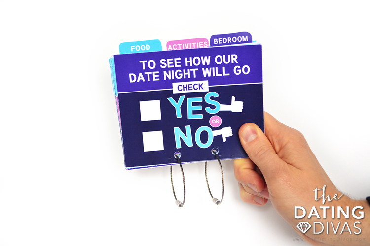 Check Yes or No Date Night Options