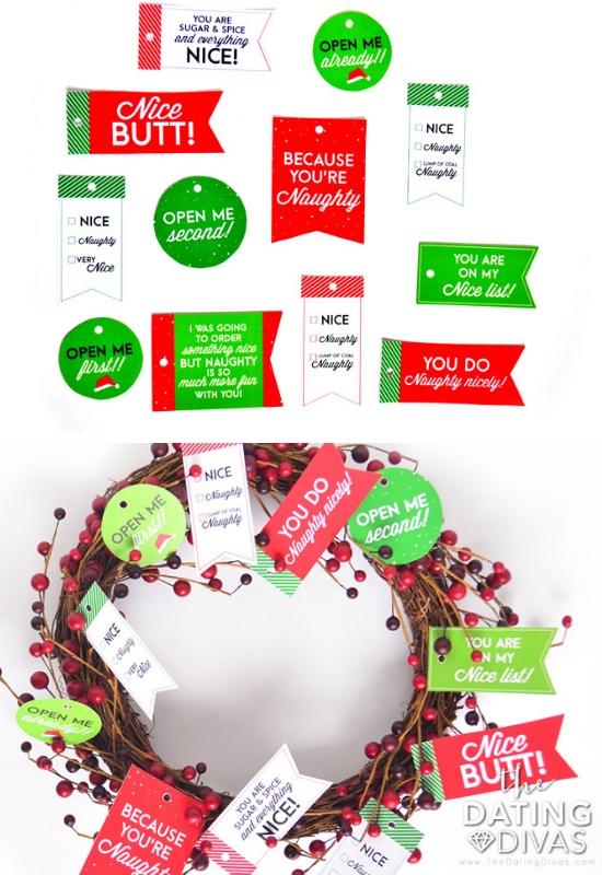 Christmas Husband and Wife Gifts Tag