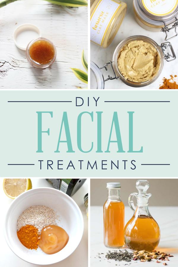 DIY Spa Day Facial Treatments