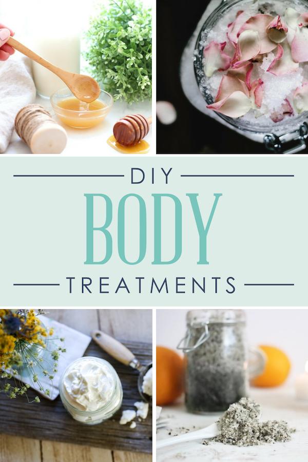 DIY Spa Day Body Treatments