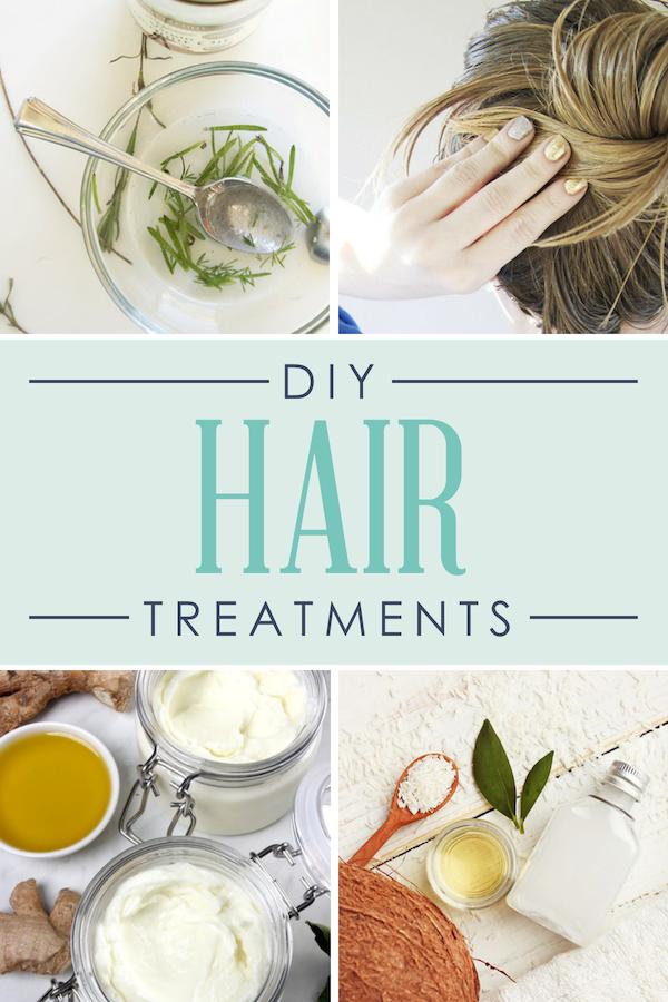 DIY Spa Day Hair Treatments