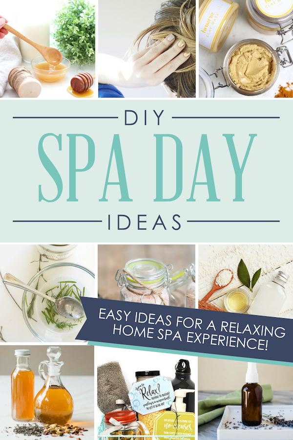 This list of DIY spa day ideas is a GOLDMINE!! Can't wait to have a home spa day! #diyspaday #diyspa