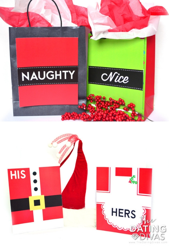 Gift Bag Covers for Christmas Husband and Wife Gifts