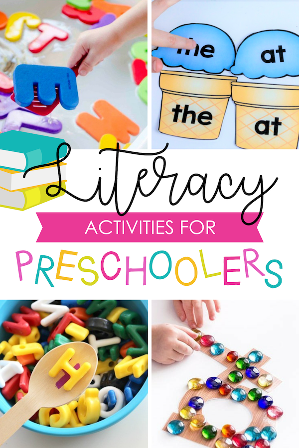 Literacy Preschool Activities