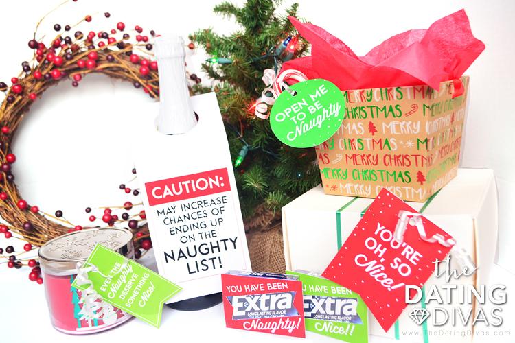 Naughty Or Nice Christmas Husband and Wife Gifts Whole Kit