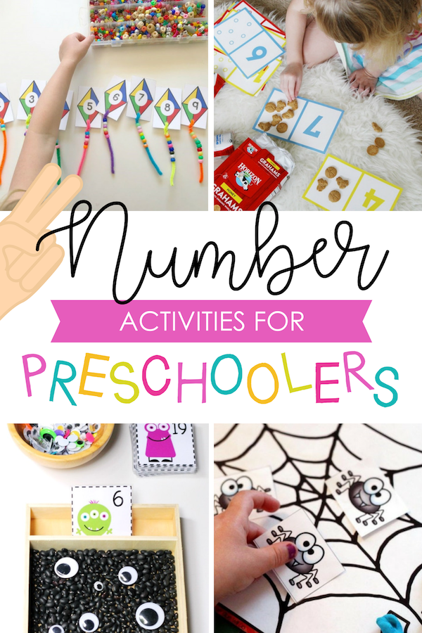 Number Preschool Activities