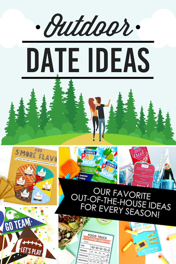 SO many great outdoor date ideas!! There's something for every season! #datingdivas #outdoordateideas #outdoordates