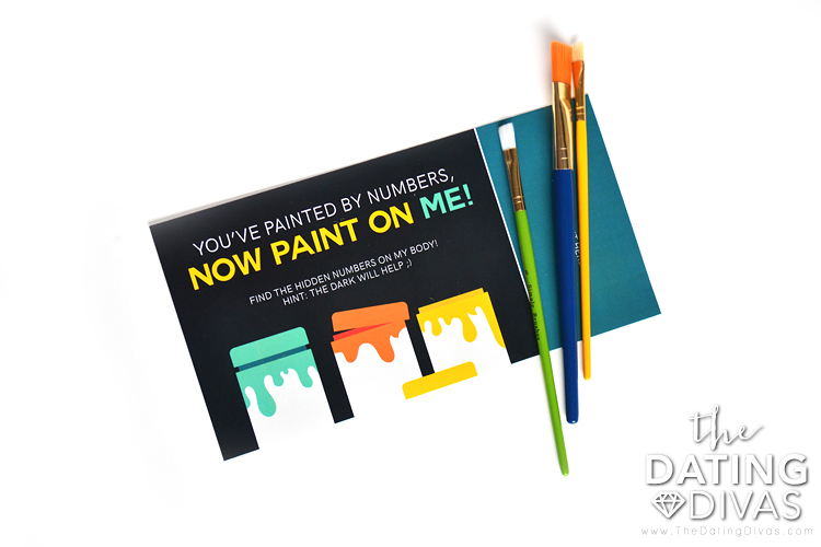 A sexy idea for after your paint night.