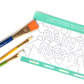 Paint By Number Date Night for Couples