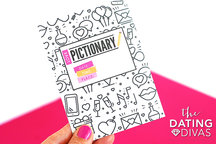 Pictionary Game Invitation