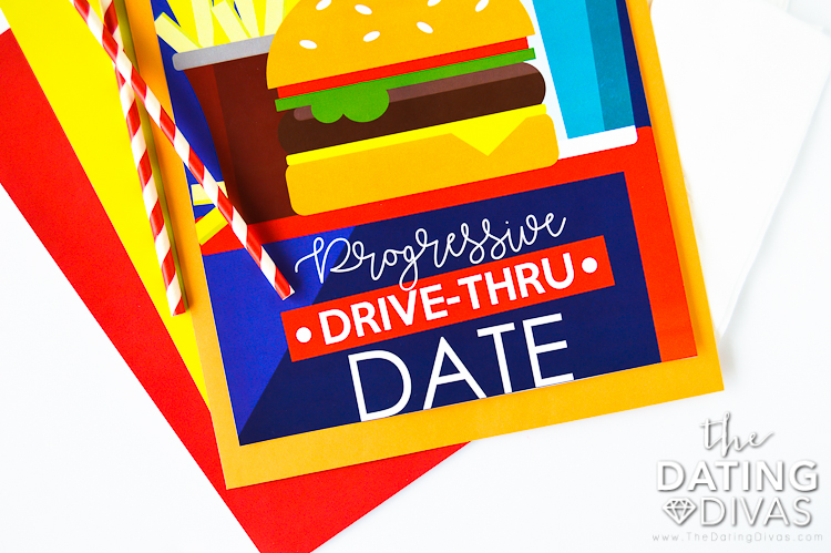 Progressive Drive Through Date Envelope