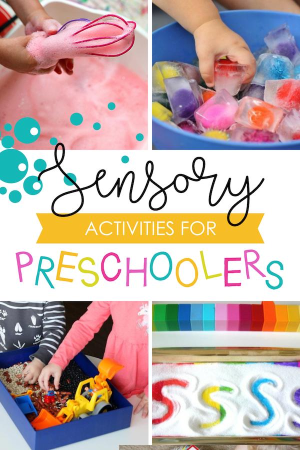 Sensory Preschool Activities