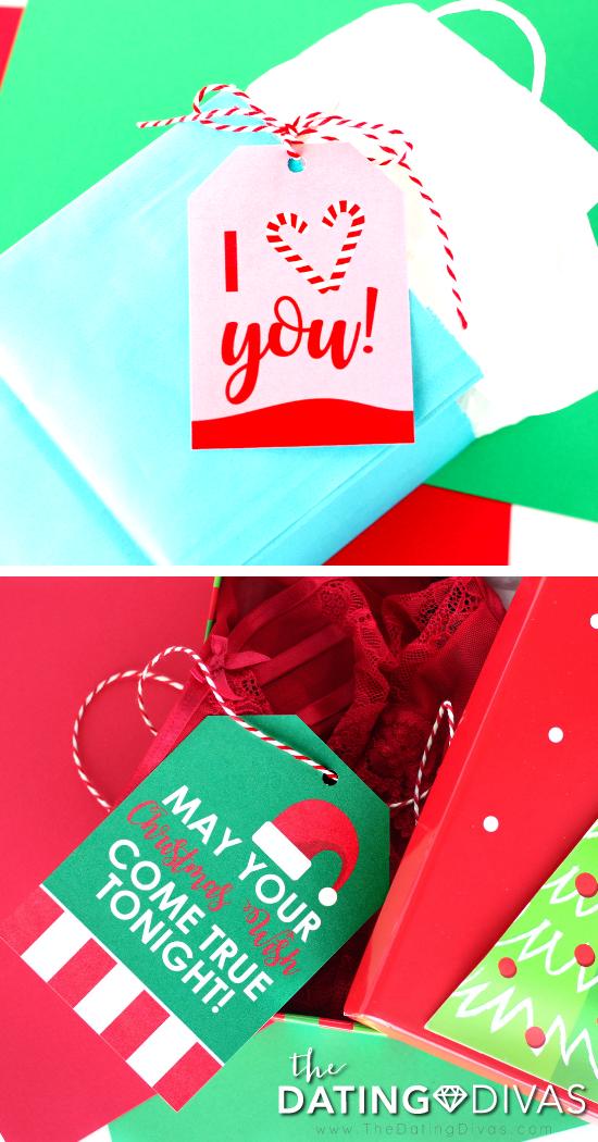 Sexy Christmas Tags