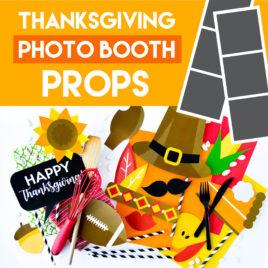 Photo booth Ideas for a fun Thanksgiving