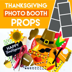 Photo booth Ideas for a fun Thanksgiving