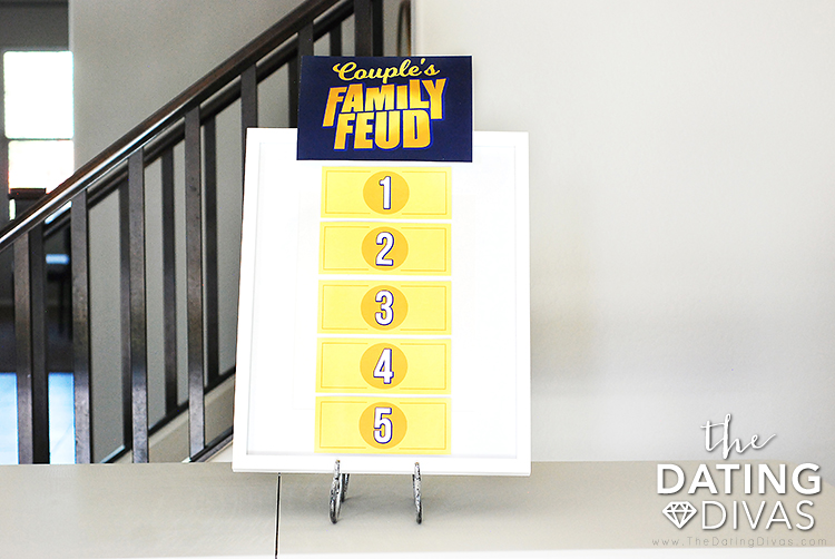 Couples Family Feud Game Night